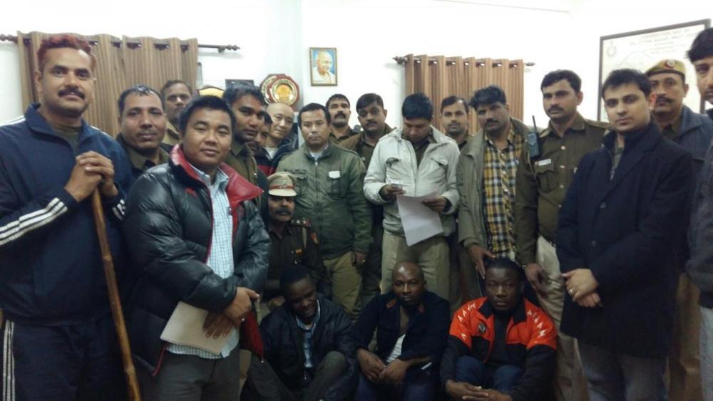 Nigerian Rape Suspects in India