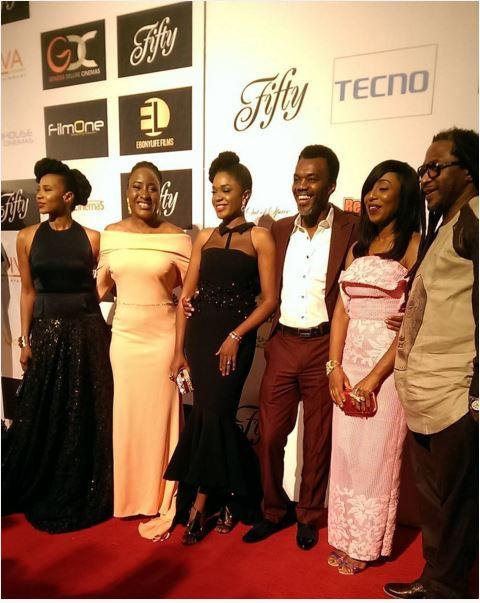 Nse Ikpe-Etim, Ireti Doyle, Omoni Oboli, Wale Ojo, Dakore Akande & Biyi Bandele