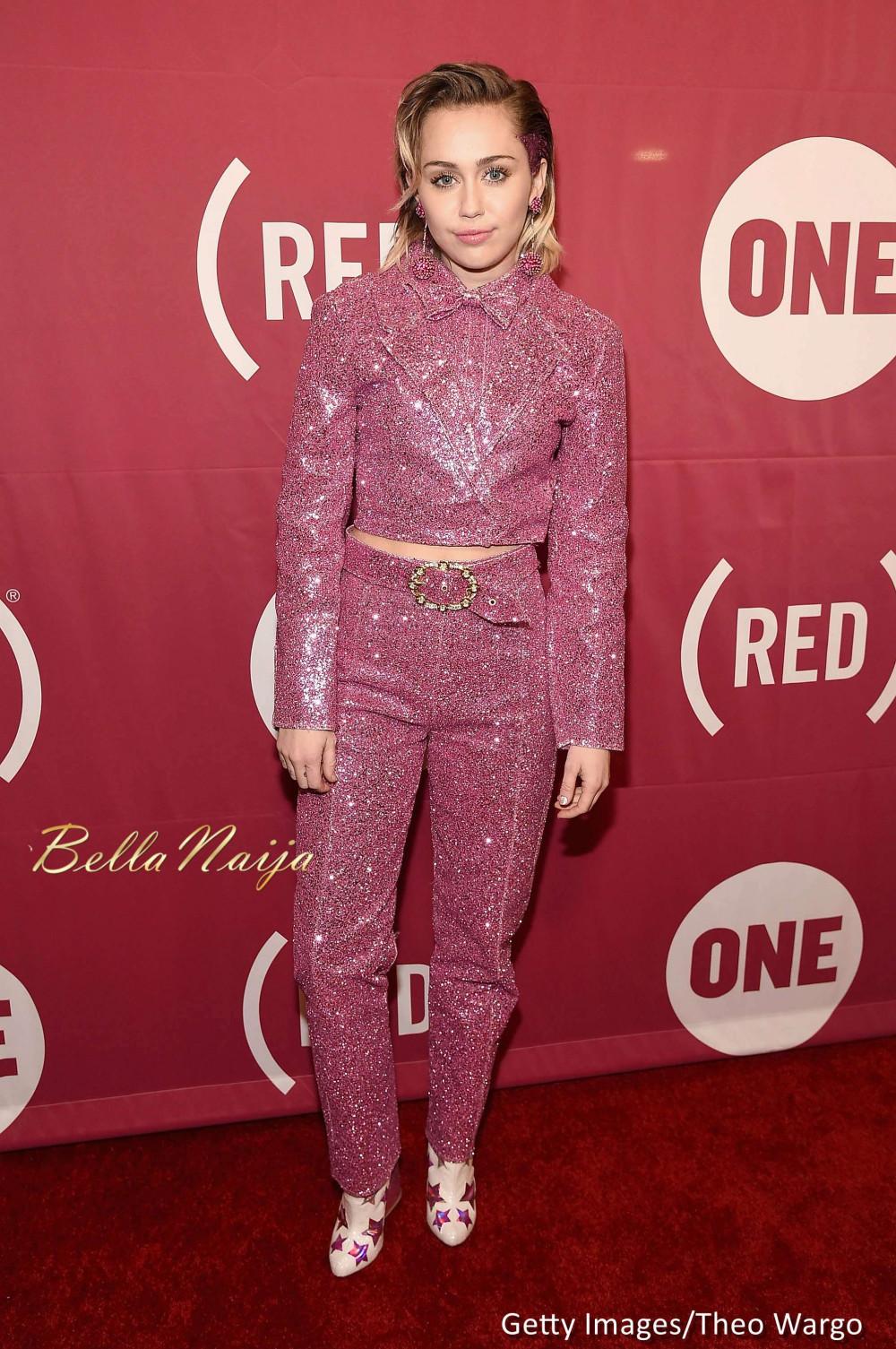 Ngozi Okonjo-Iweala, Miley Cyrus, Bono & more at ONE and (RED)'s ...