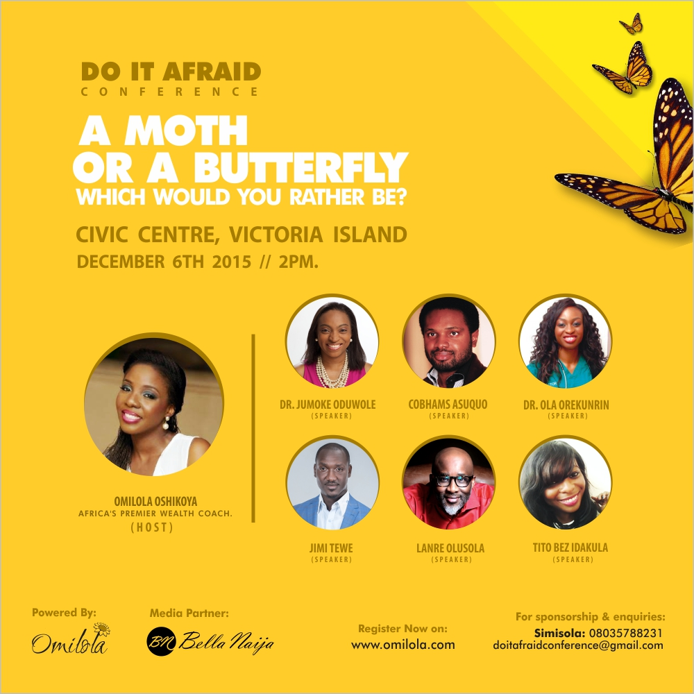 Omilola Do It Afraid Conference 2015
