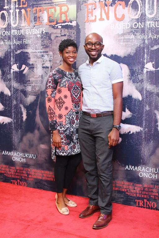 Omolua and Eugene Nwoke