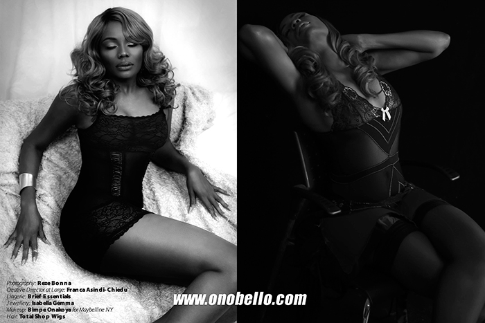 Ono Bello Lingerie Editorial Shoot - BellaNaija - December2015004