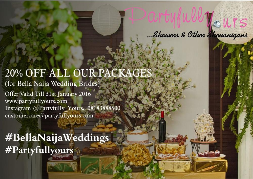 Partyfully Yours BellaNaija Brides