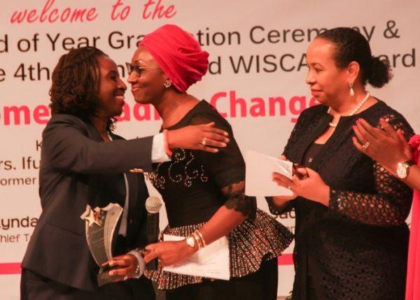 Presentation of 4th Distinguished WISCAR's award to Mrs. Ifueko Omoigui Okauru