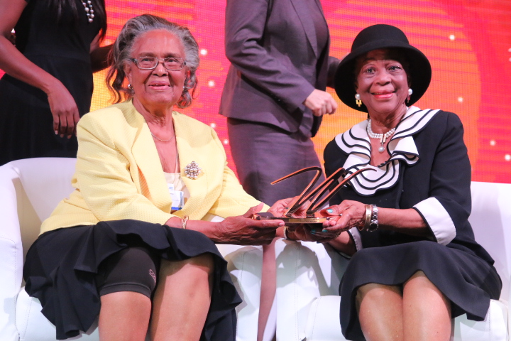Prof Alele Williams- Amazon of the year Award