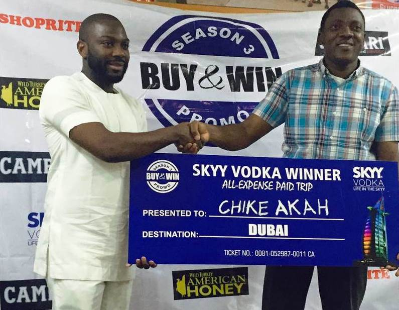 SKYY Vodka, Campari & American Honey Buy & Win Promo Winners 3