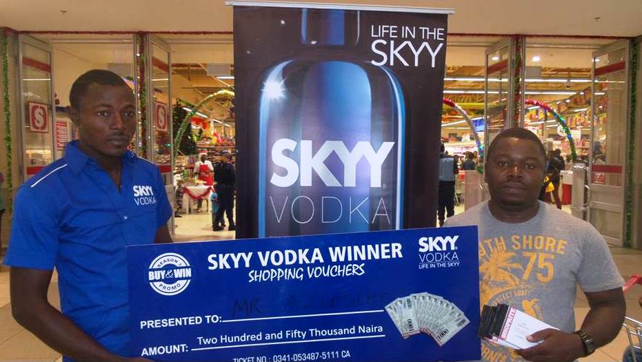 SKYY Vodka, Campari & American Honey Buy & Win Promo Winners 4
