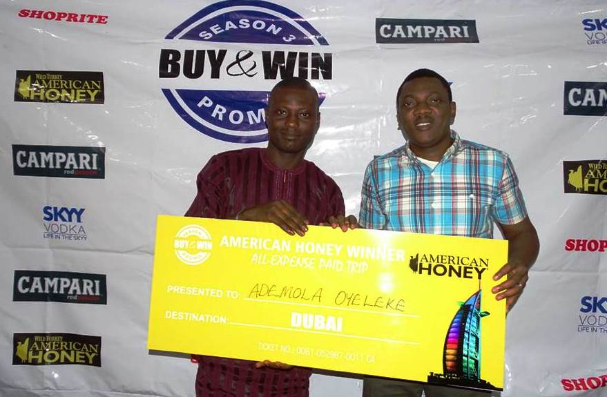 SKYY Vodka, Campari & American Honey Buy & Win Promo Winners 7