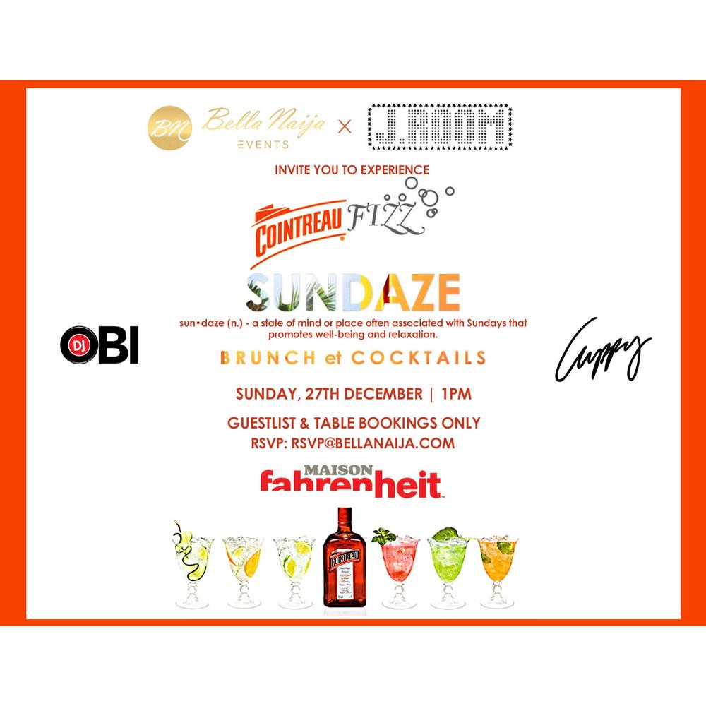 SUNDAZE DJ Obi DJ Cuppy