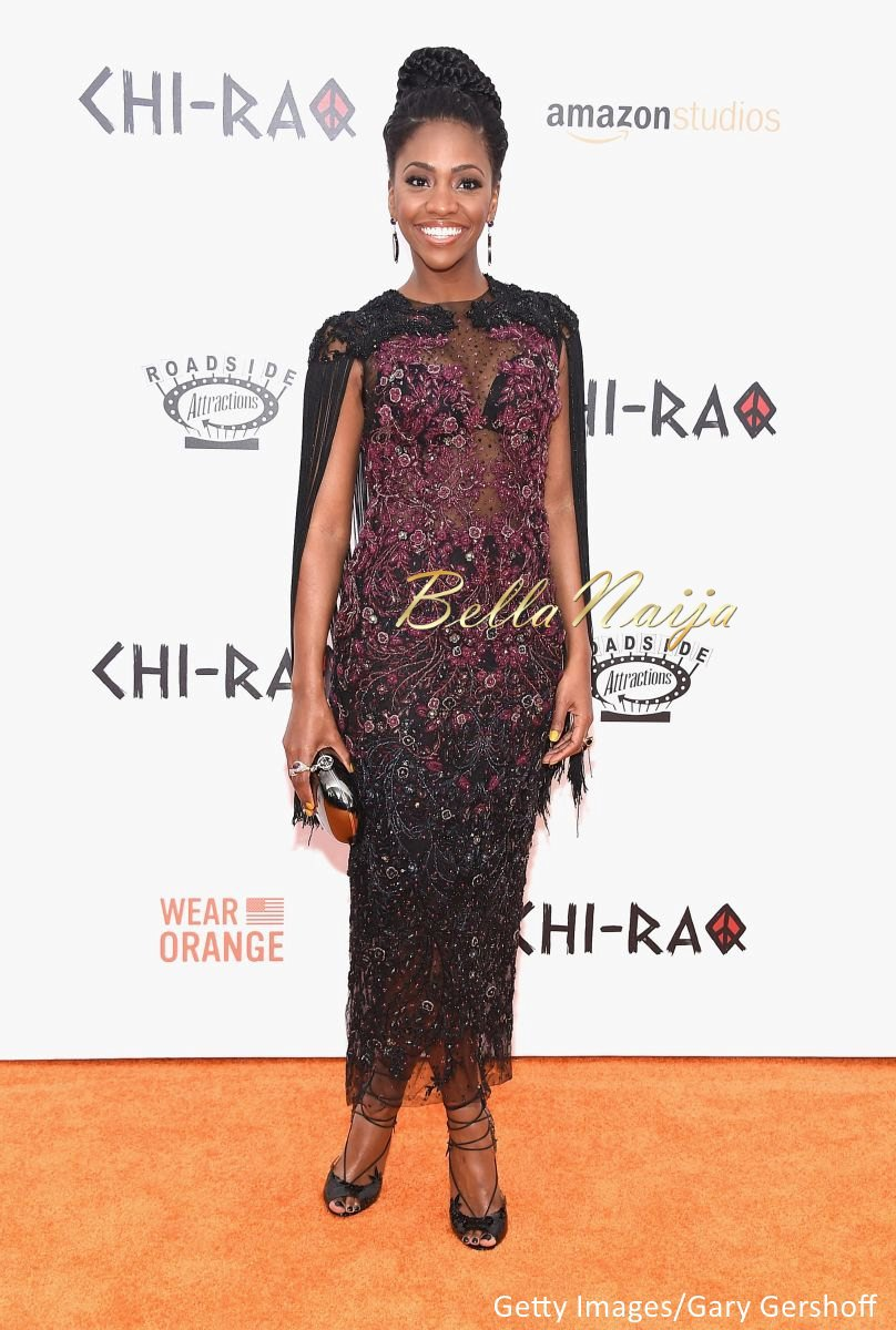 Teyonah Parris at Chi-Raq Premiere in New York - BellaNaija - December2015002