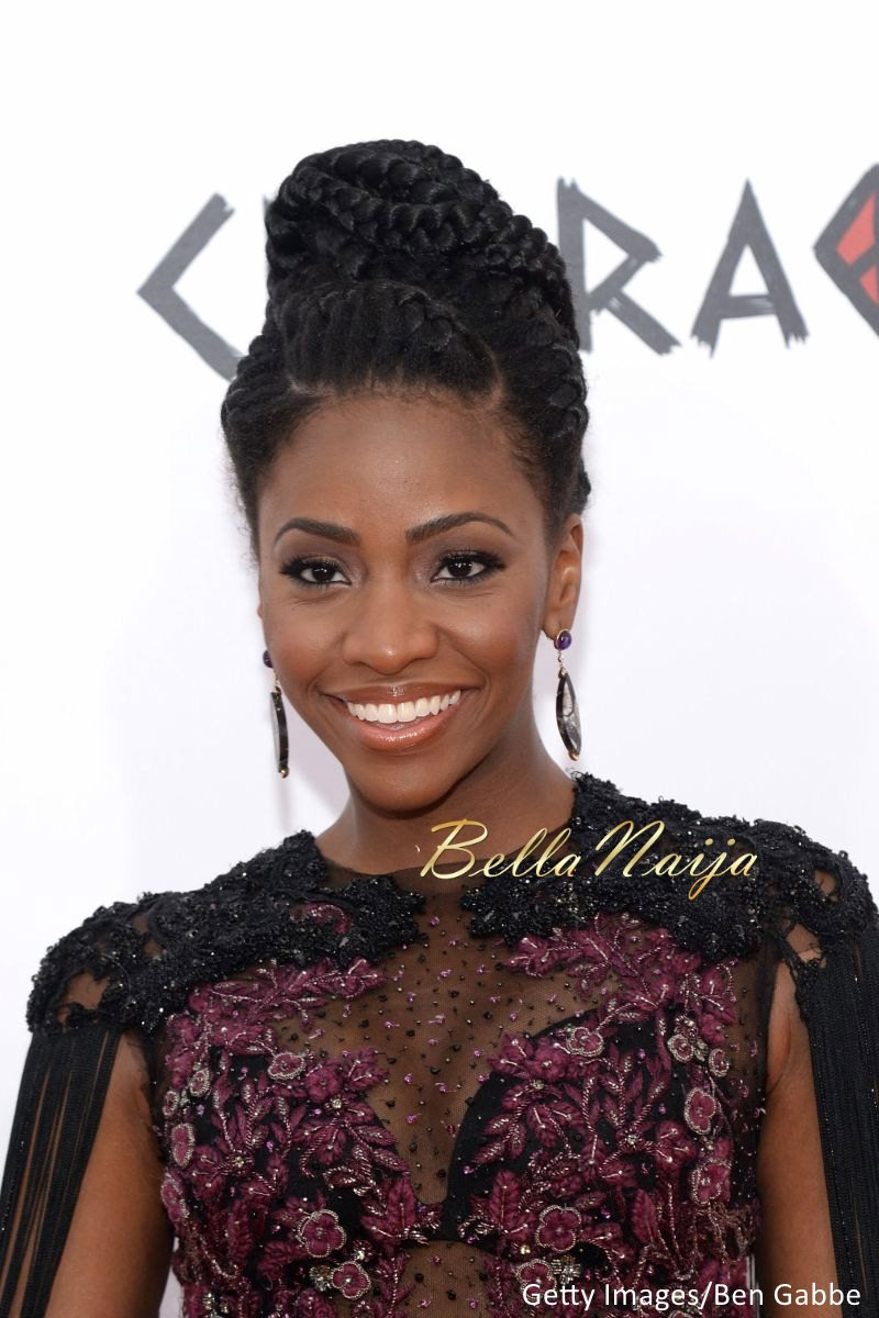 Teyonah Parris at Chi-Raq Premiere in New York - BellaNaija - December2015003