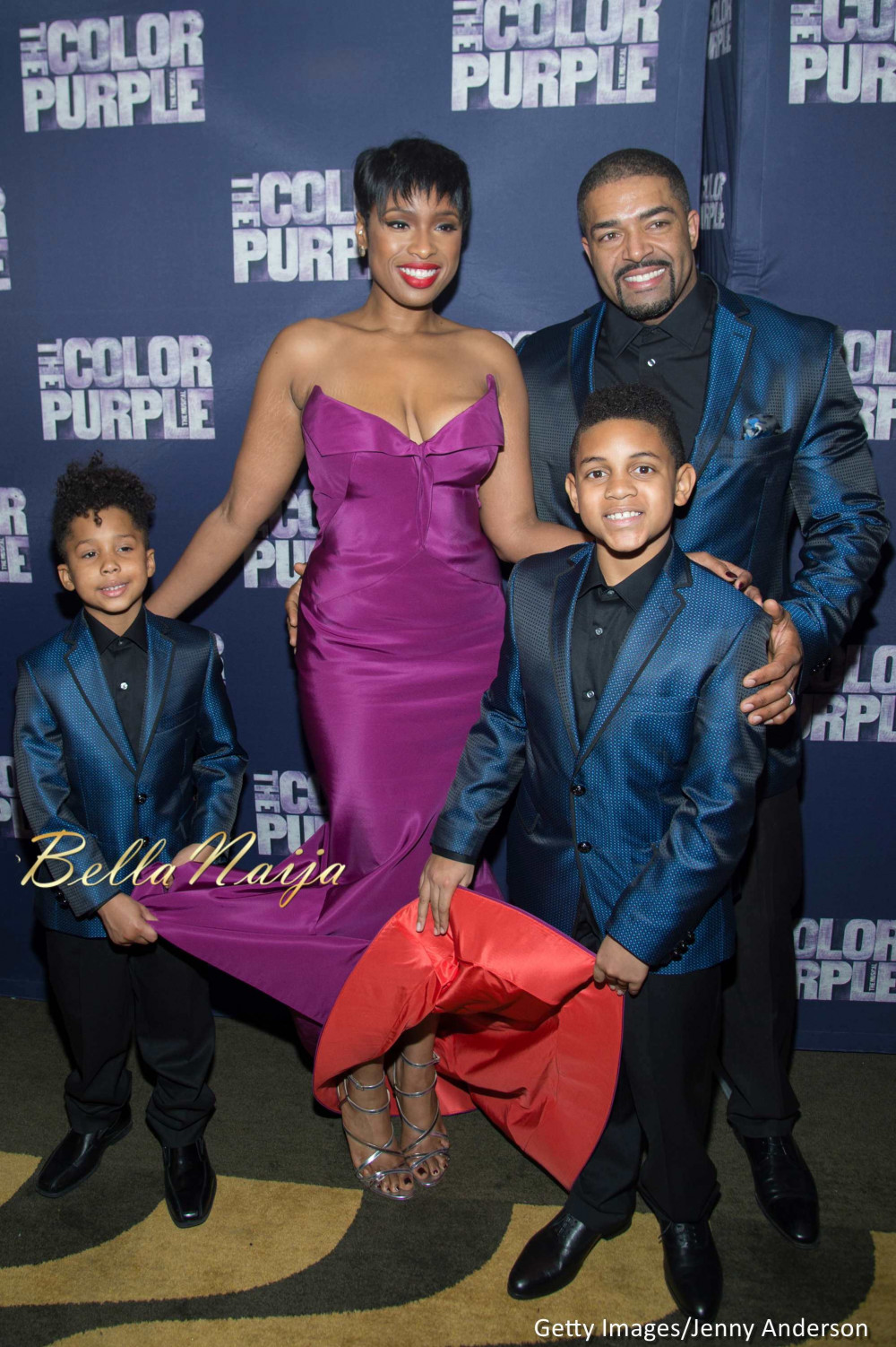 jennifer hudson uzo aduba laverne cox gabourey sidibe more at 39 the color purple 39 broadway. Black Bedroom Furniture Sets. Home Design Ideas