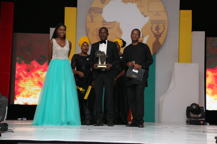 The Future Awards Africa Prize in Agriculture, David Asiamah (Ghana) Winner