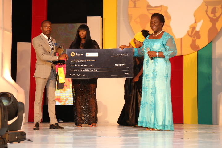 The Tony O. Elumelu Prize in Business, Samuel Malinga (Uganda) Winner