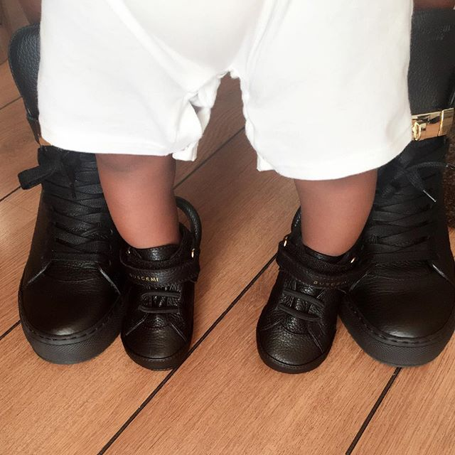 Tiwa Savage Baby Shoes