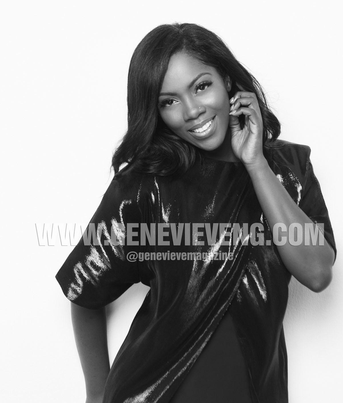 Tiwa Savage Genevieve Magazine 2015 1
