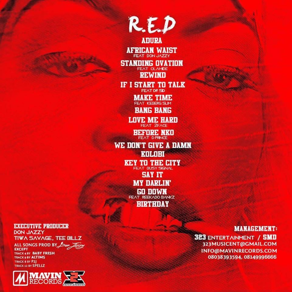 Tiwa Savage RED 2 BellaNaija