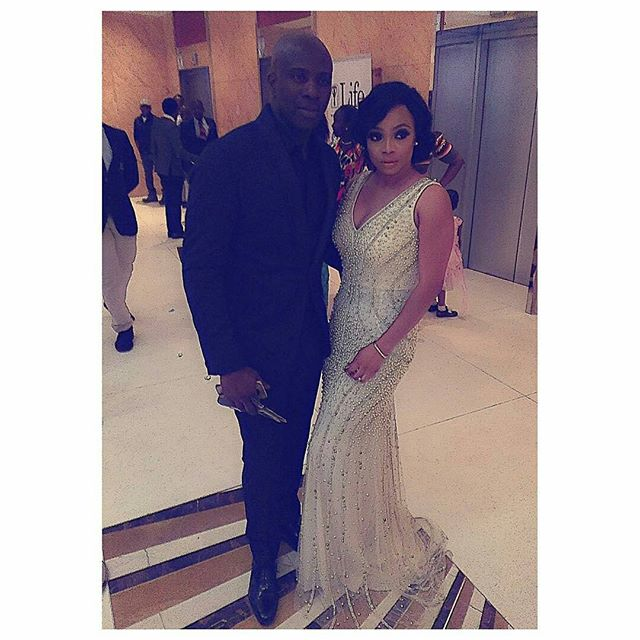 Toke Makinwa Maje Ayida The Future Awards Africa 2015