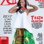 Tosin Araromi at Zen Magazine - BellaNaija - December 2015