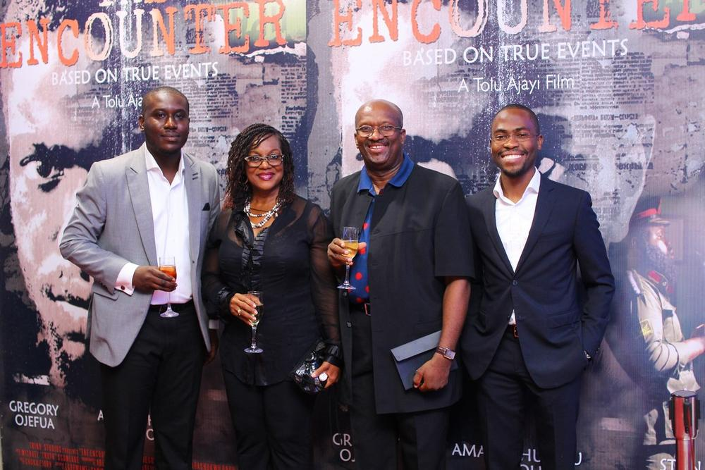 Uche Okocha, Chibogu Anyaegbunam, Chris Anyaegbunam and Babatunwa Aderinokun