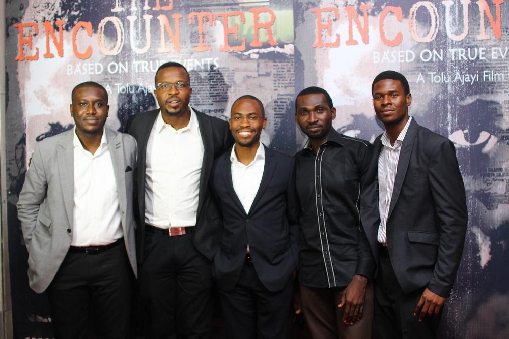 Uche Okocha, Tolu Ajayi, Babatunwa Aderinokun, Ekene Mekwunye and Egbemawei Sammy