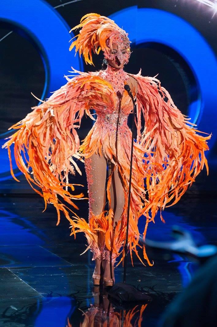 Whitney Houston A. Shikongo, Miss Universe Angola 2015