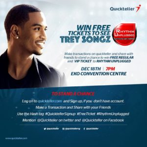 Win Tickets to See Trey Songz Quickteller