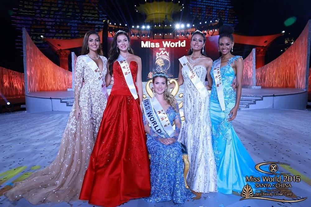 Winner Miss World 2015
