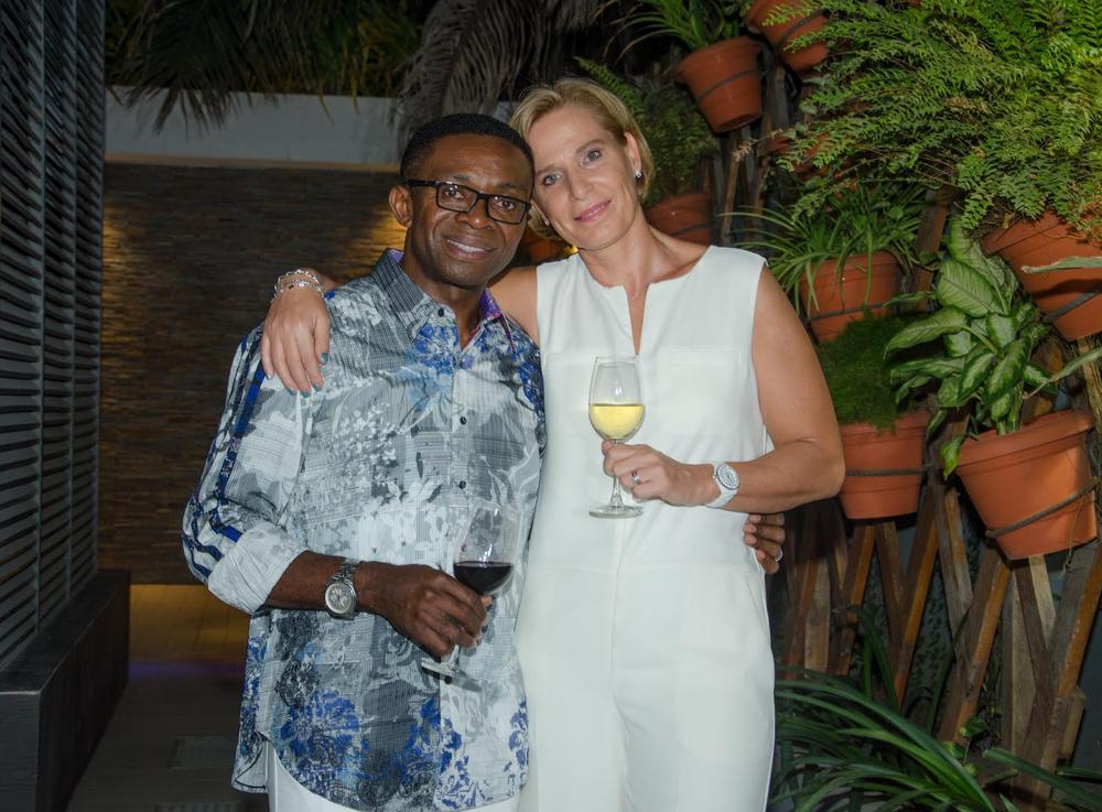 Yvonne & Ike Chioke