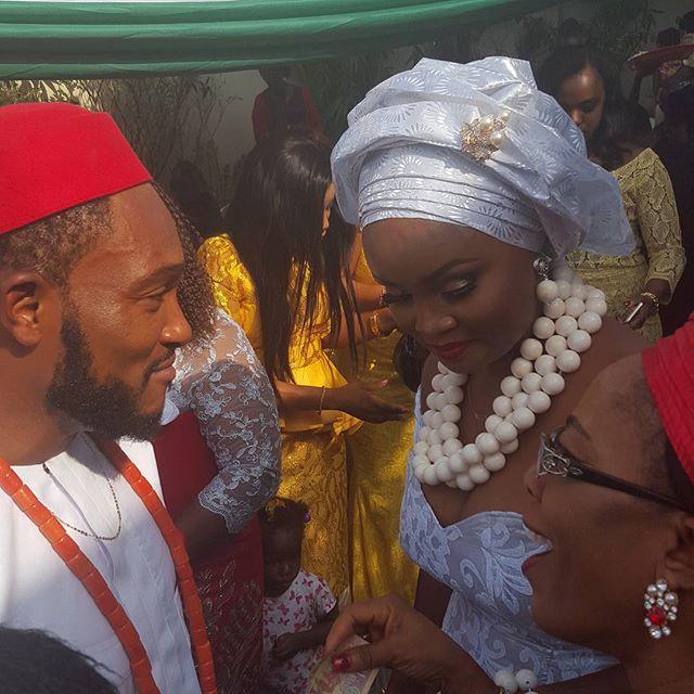 blossom chukwujekwu wedding 2
