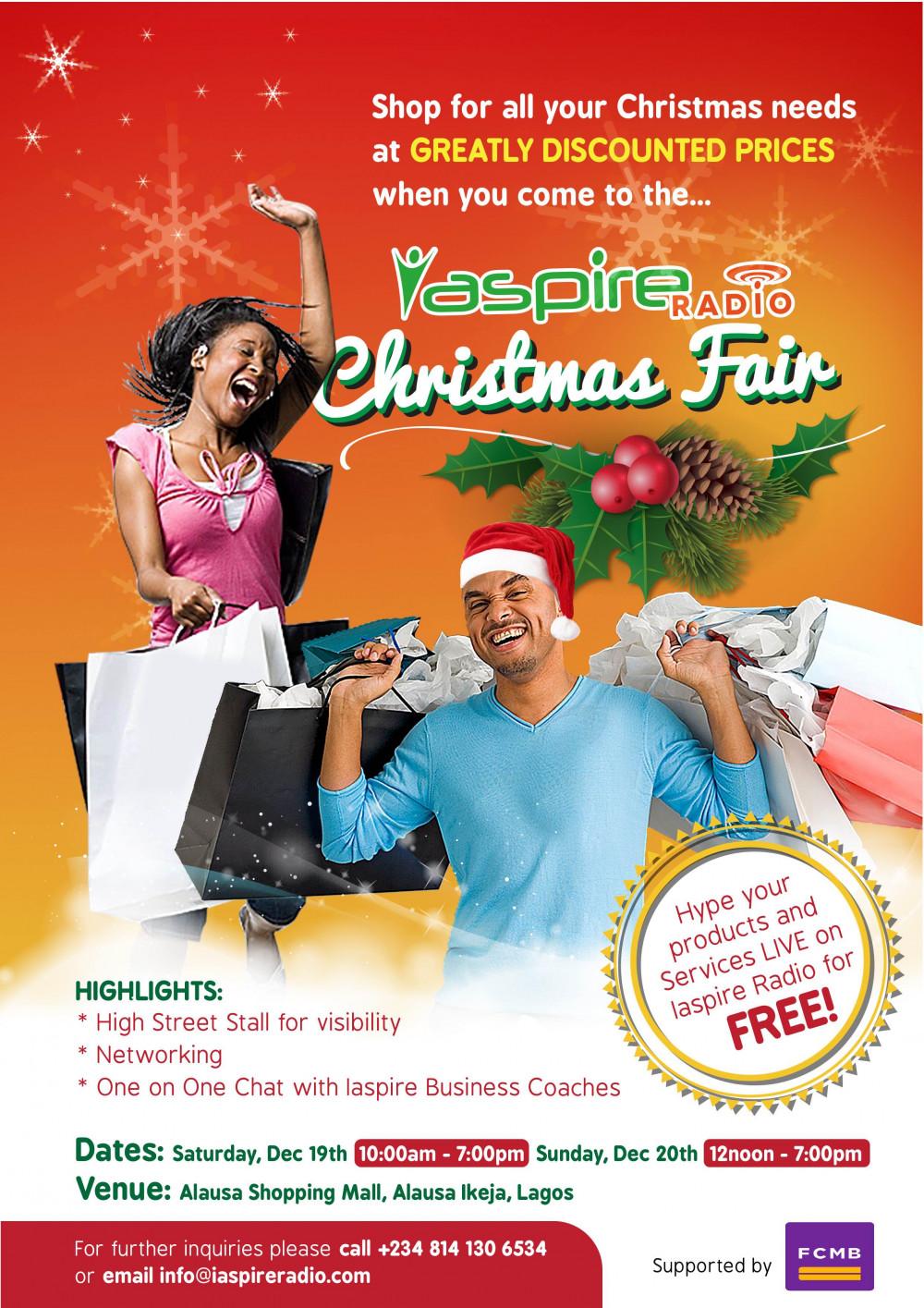 iaspire Xmas Fair 2015