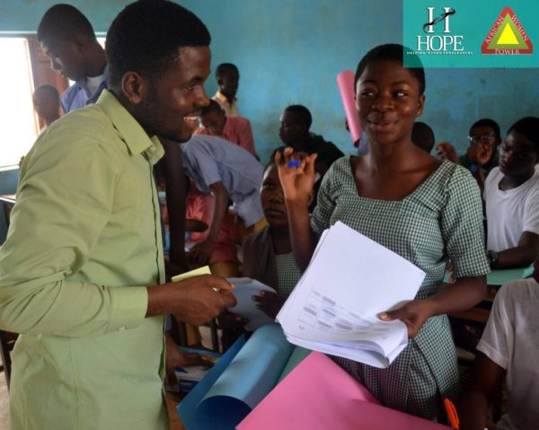 10 Project Manager Aderemi Ademiju with Student