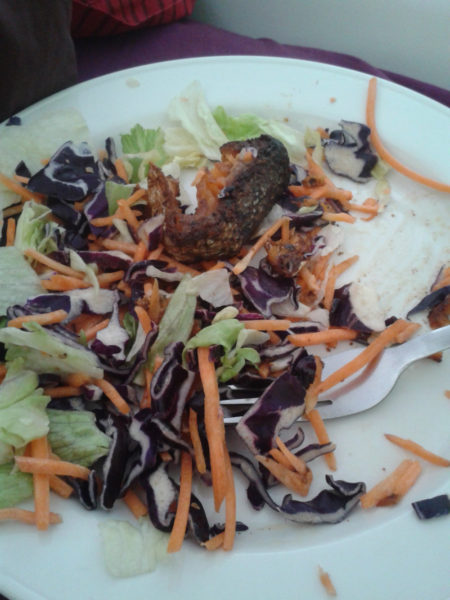 Good old faithful Tesco £1 Salad with Grilled Salmon