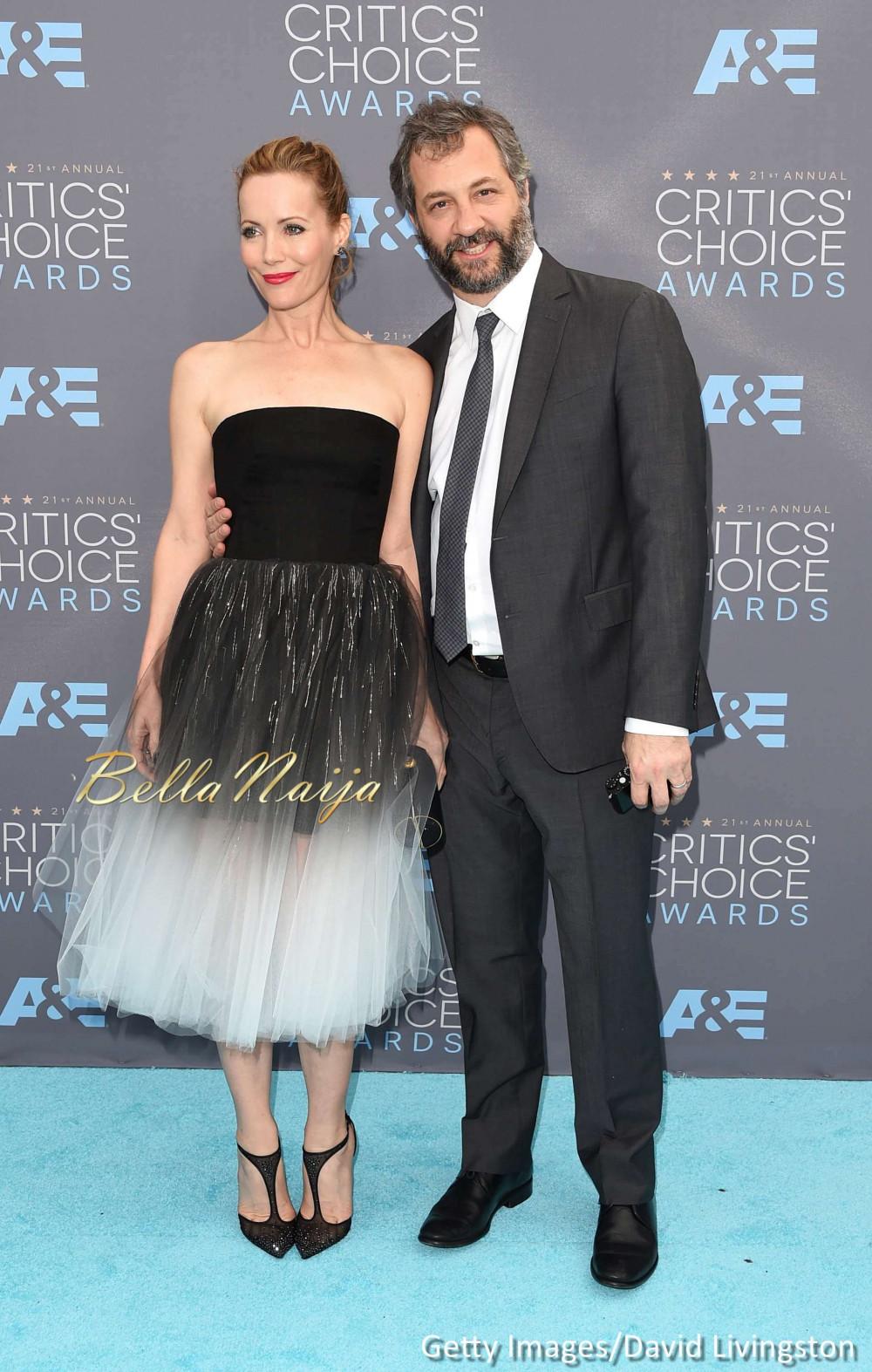 Leslie Mann & Judd Apatow