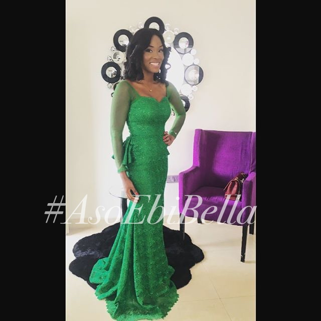 @eniolamafe in @misterboya dress, makeup by @_beautybyqueen