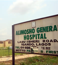 Chief Medical Officer Of Alimosho General Hospital Shares How Its