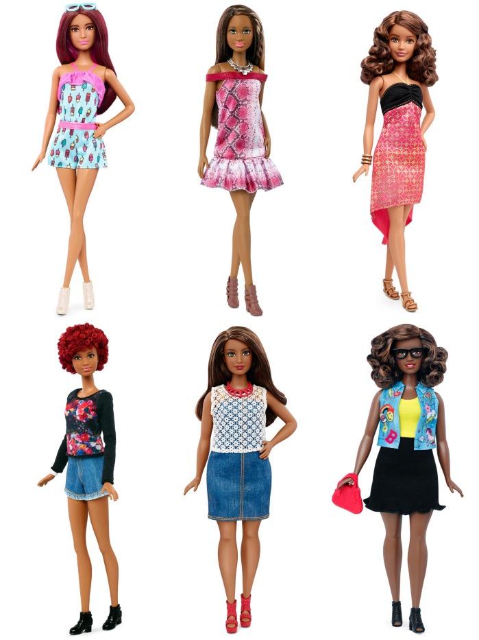 Fantastic Barbie Got A Body Makeover She Now Comes In 7 Skin Tones 4 Body Short Hairstyles For Black Women Fulllsitofus