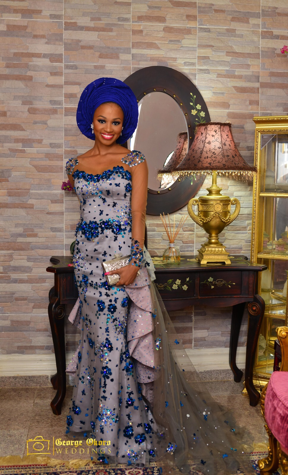 Ameera in Odio Mimonet | Photo by George Okoro Weddings