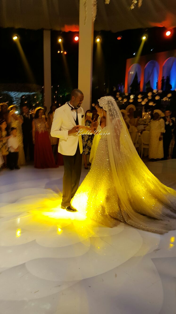 BellaNaija 2016 Wedding Trends_Bride Ajibola Ajimobi in Elie Saab Couture in Lebanon