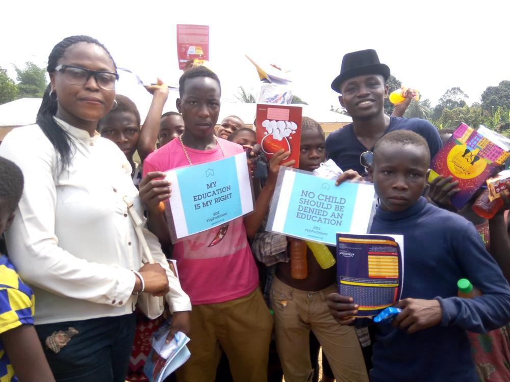 BellaNaija Charity_Global Youth Ambassadors Partner to Help Over 1000 Children in Benin, Delta and Ibadan Go Back2School_8