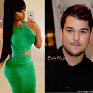 Blac Chyna and Rob Kardashian Dating_January 2016_BellaNaija