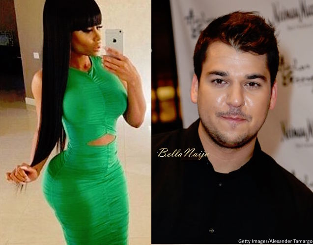 Rob Kardashian Dating Blac Chyna Gym Nail Salon Photos | Radar Online
