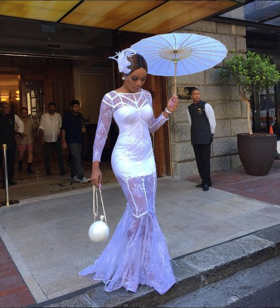Bonang Matheba at the Lormarins Queens Plate - BellaNaija - January 2016001