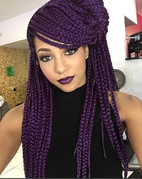 Crochet Box Braids With Rubber Bands : Box Braids - BellaNaija - January 2016003
