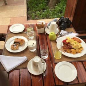 The breakfast menu is also Instagram-worthy.