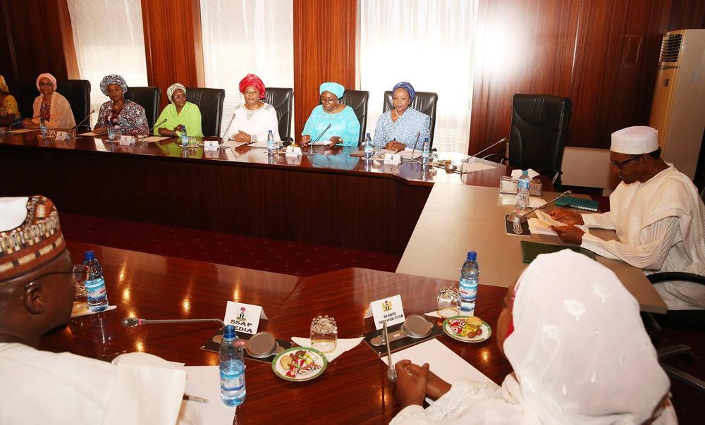 Buhari Women Visit 2016 1
