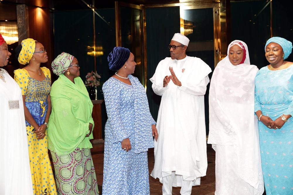 Buhari Women Visit 2016