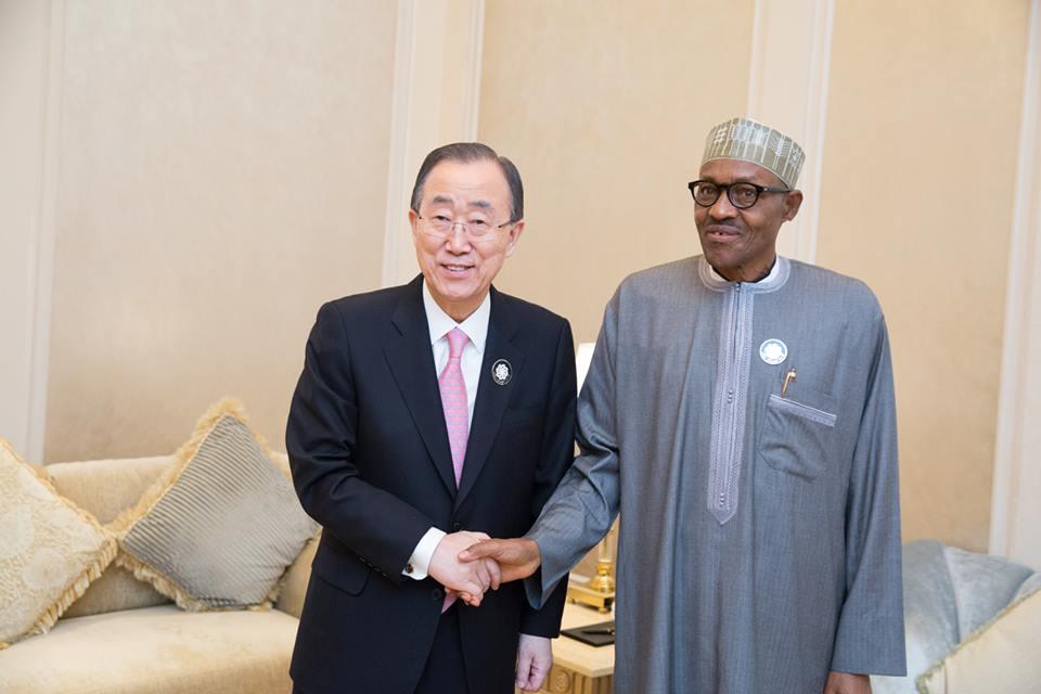 Buhari and UN SG