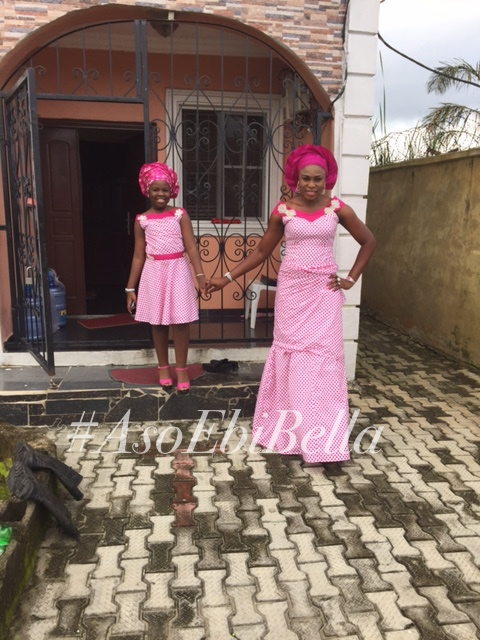 Bukola and daughter