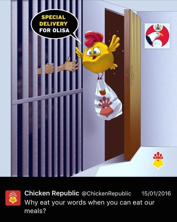 Chicken Republic EFCC Ad